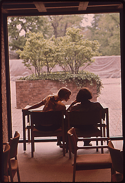 Haun, D. (1973 May). Rogers Memorial Library. The Environmental Protection Agency's Program to Photographically Document Subjects of Environmental Concern, 1972 - 1977. National Archives and Records Administration, 546547.